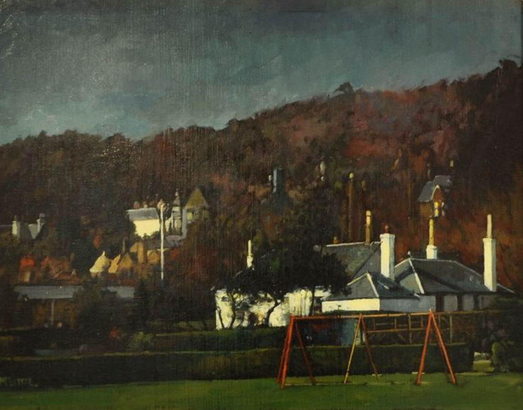 Joe McIntyre The Edge of Orchar Park, Broughty Ferry | Scottish Contemporary Art