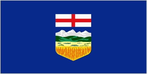 Alberta Flag - I want to put this in my house