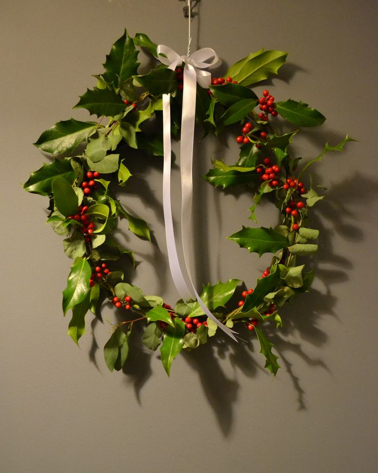 Christmas Wreath - cottage style