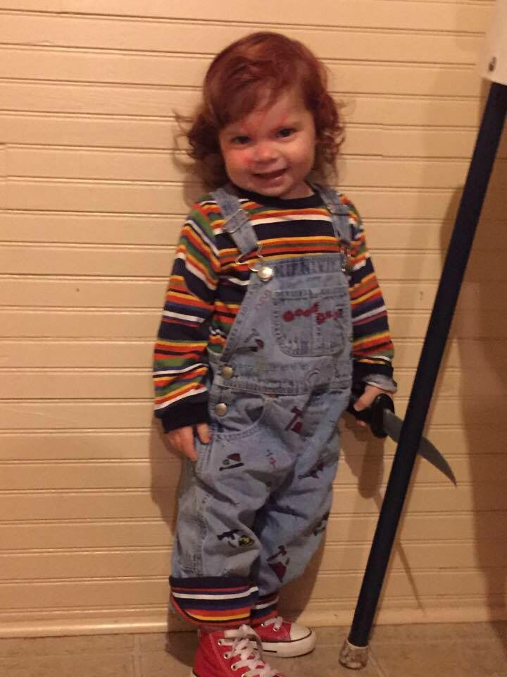 chucky costume for toddler - photo #19