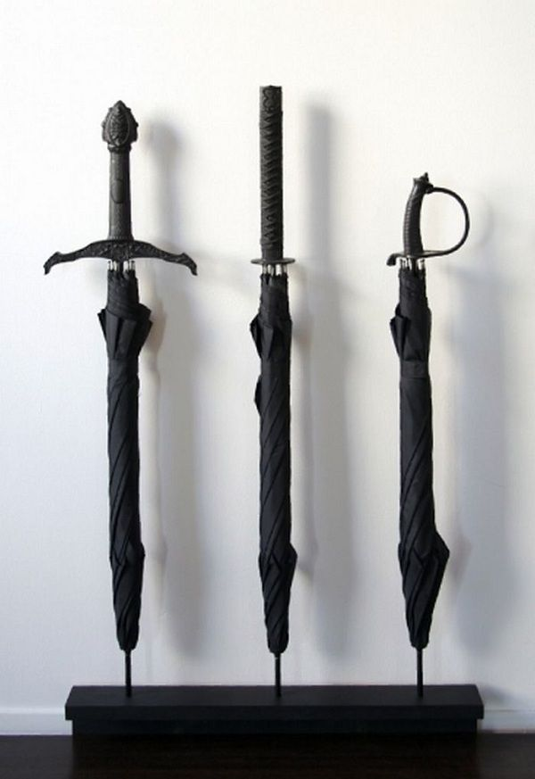 Sword Handle Umbrellas - Take My Paycheck | The coolest gadgets, electronics, geeky stuff, and more! Shut up and take my money!