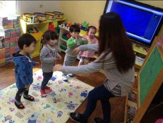 Dancing with Priori class 3 years old