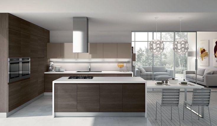 87 best cucine moderne images on pinterest kitchens for Cucina moderna tecnologica