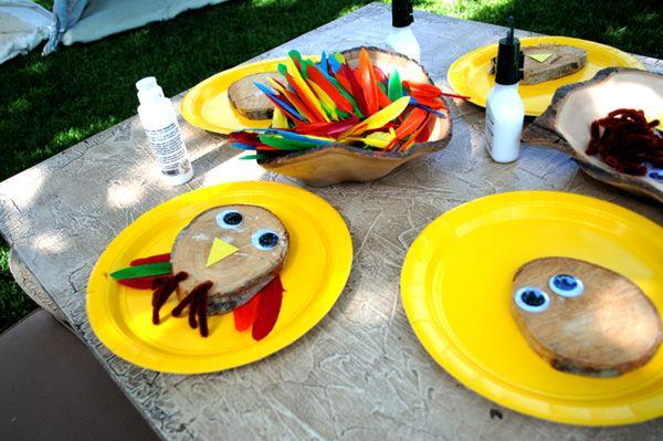 Woodland Owls #owl #DIY #craft #project #kids #easy #woodland