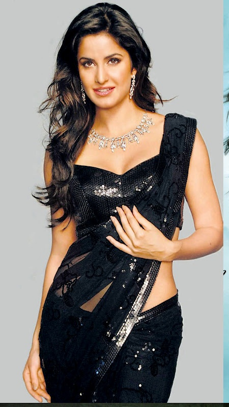 Katrina Kaif Style Saree | More collection of Celebrity Saree Collection @ www.prafful.com