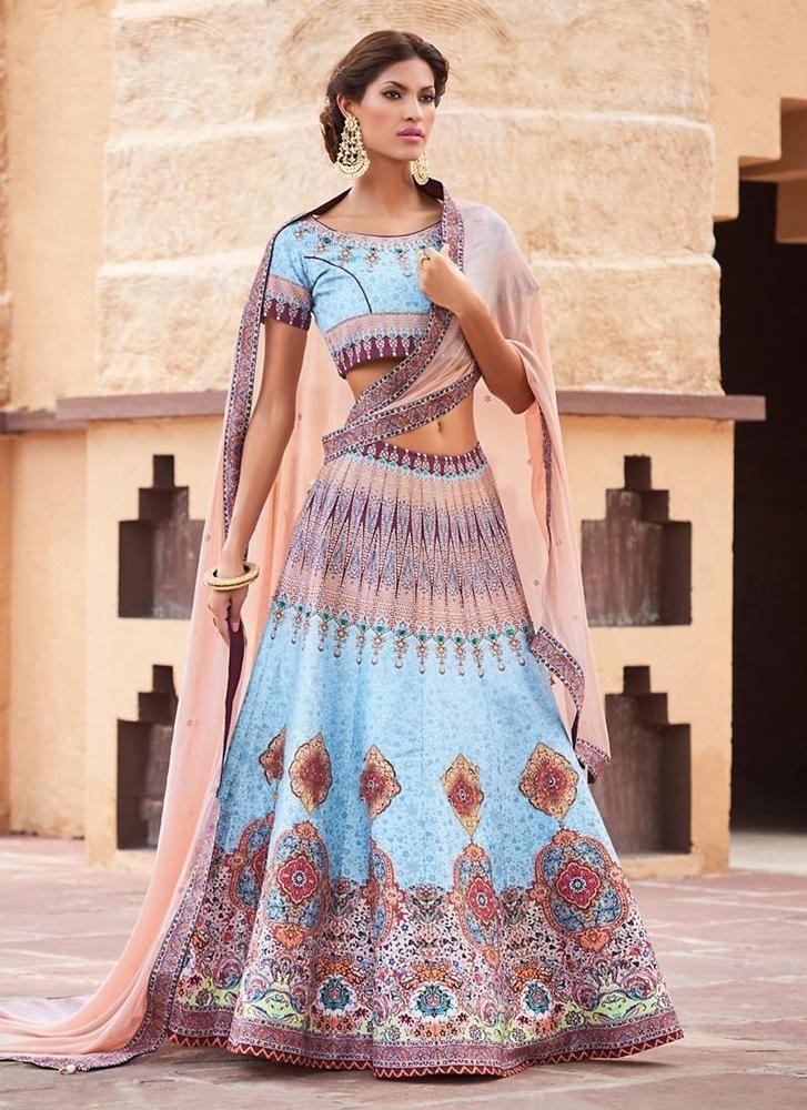 Pakistani Wedding Bollywood Choli Indian Lehenga Bridal Ethnic wear Traditional #TanishiFashion