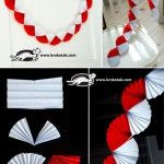 A+white+and+red+garland