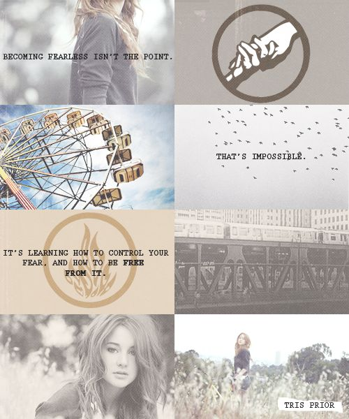 One of my favorite Divergent quotes!