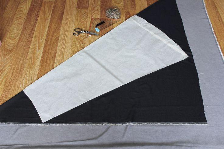 schräger Rock 1   – dikiş / sewing