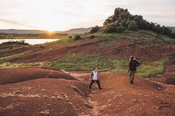 Photos de couple Lac du Sapajou Hérault marcgerardphotography.com