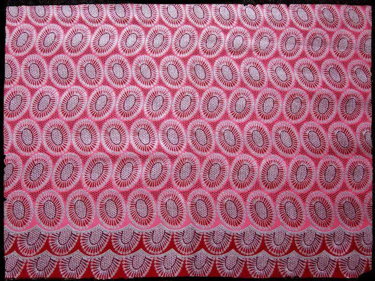tissu africain paillette
