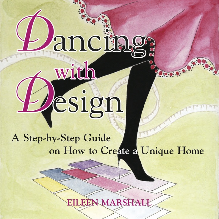This jam-packed decorating guide provides golden nuggets of design advice, real-life experiences, easy-to- apply trade secrets and more .....      Dancing with Design takes away the fear of decorating, cancels-out confusion and will give you the confidence to renovate, decorate or start a home from scratch.