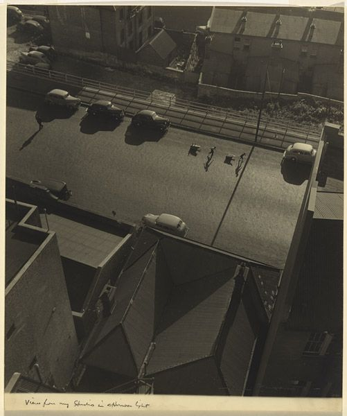 Max DUPAIN View from my studio in afternoon light, 1941