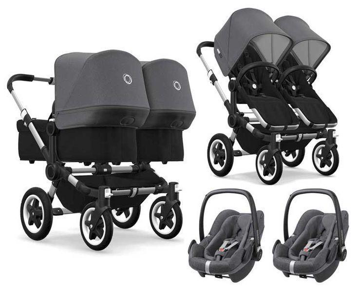 Bugaboo Donkey 2 Twin Zwillingskinderwagen 3 In 1 Mit Maxi Cosi Quinny Strolle Quinny Stroller Ideas Of Quin Bugaboo Donkey Twin Strollers Newborn Stroller