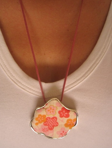 The Japan Collection: Rose Flowers Pendant