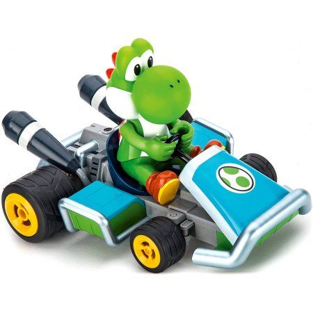 Carrera Nintendo Mario Kart 7 Yoshi RC Vehicle, Multicolor