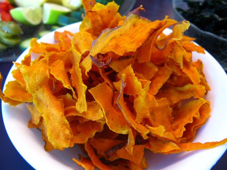 Kumara Chips  (Sweet potato chips)