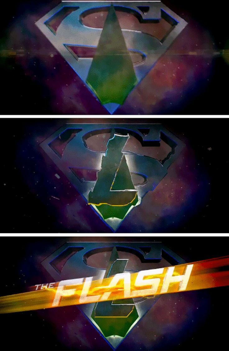 Super Legends of Flarrow! Crossover Symbol #Arrow #TheFlash #Supergirl #LegendsofTomorrow