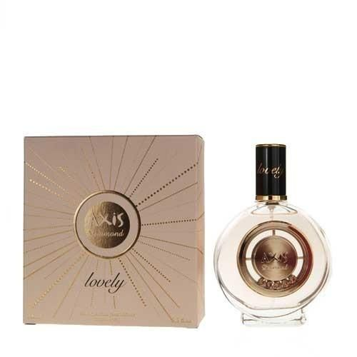 Axis Diamond Lovely Perfume by SOS Creations - 3.4 oz EDP Spray (New In Box)