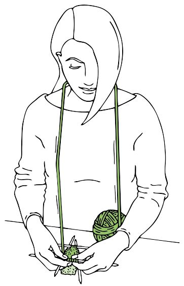 """by Donna Druchunas explains that """"Portuguese"""" knitting is also seen in Greece, Turkey, and the Balkans (and speculates that it traveled west with the Moors). Here she shows the basic method with clear diagrams, and offers a pattern for complex colorwork Bosnian Slipper Socks [More knitting tech pins at https://www.pinterest.com/yrauntruth/fiber-knit-techniques-tutorials/ ]"""