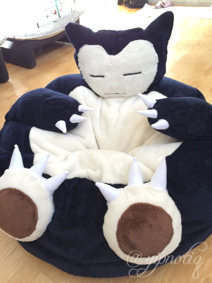 bean bag chair. #Snorlax