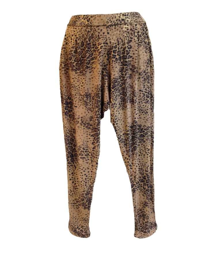 A Postcard From Brighton Chillings Animal Print Pants
