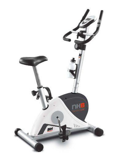 Bicicleta estática de exclusivo diseño de vanguardia. Fácil de mover y guardar.  Características – Diseñada para uso doméstico ocasional Para entrenamientos de hasta 3 horas a la semana – Sistema de freno magnético Sin mantenimiento. Pedaleo suave y silencioso con diferentes tensio... http://gimnasioynutricion.com/tienda/bicicletas/estatica/bh-fitness-nhb-bicicleta-estatica-color-blanco/