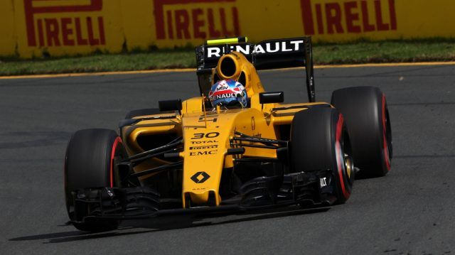 Jolyon Palmer (GBR) Renault Sport F1 Team RS16 at Formula One World Championship, Rd1, Australian Grand Prix, Qualifying, Albert Park, Melbourne, Australia, Saturday 19 March 2016. © Sutton Motorsport Images