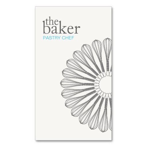46 best bakery and pastry chef business cards images on pinterest pastry chef baking whisk modern catering business card reheart Image collections