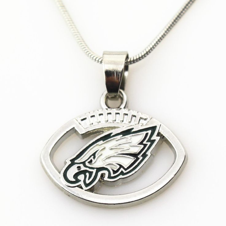 10pc NFL Philadelphia Eagles Necklace