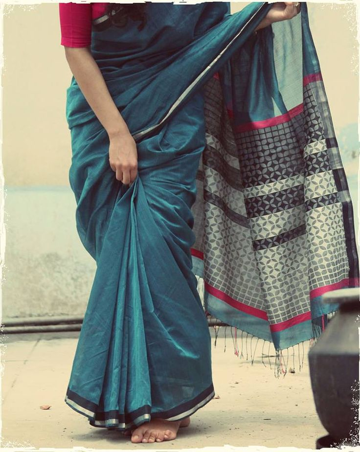 Ethicus's Atangudi saris take inspiration from Tamil Nadu's Chettinad...