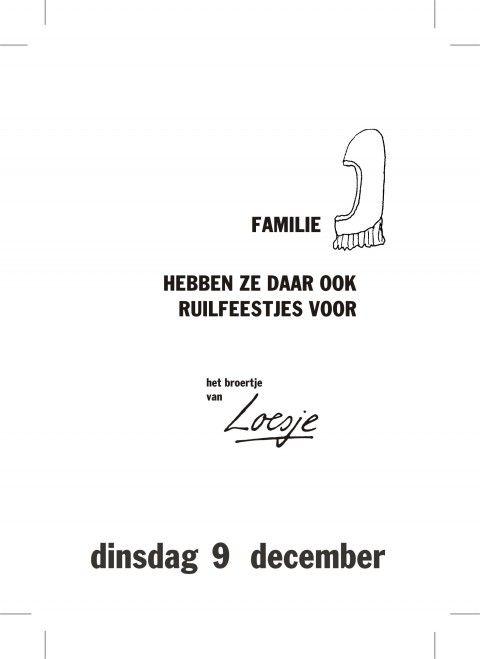 spreuken over december Familie hebben ze daar ook ruilfeestjes voor  het broertje van  spreuken over december
