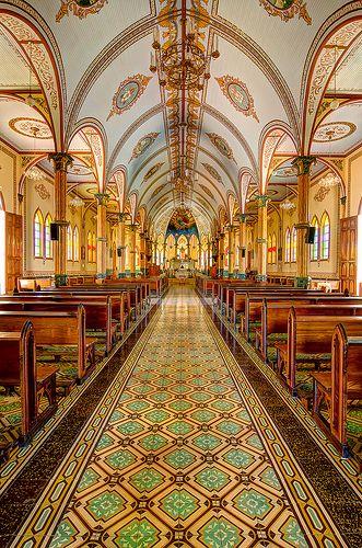 Eglise de San Rafael, Zarcero, Costa Rica