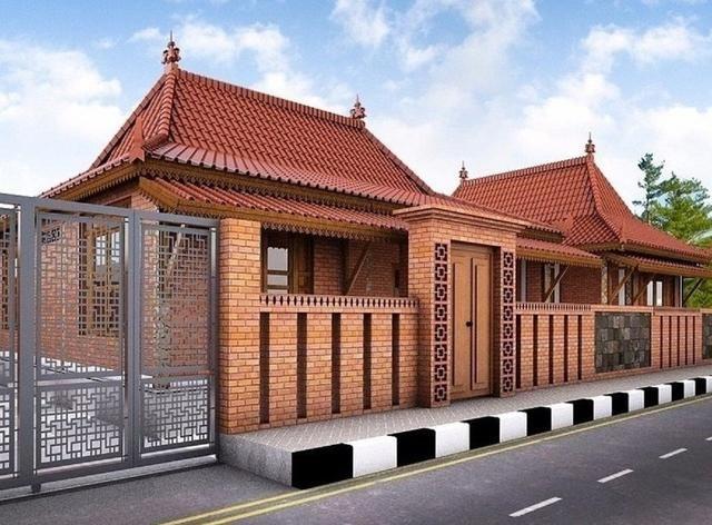 7 Jenis Rumah Limasan Untuk Bangun Hunian Disertai Beragam Desain Inspiratif Home Fashion Dekorasi Rumah Pedesaan Desain Rumah Desa