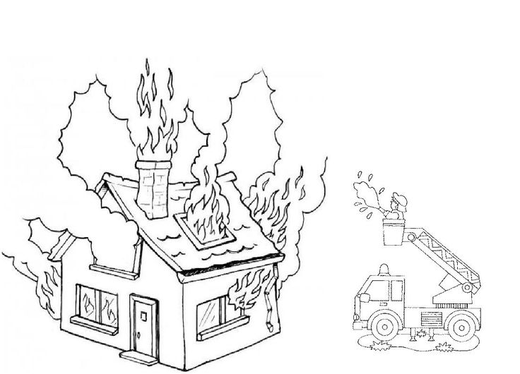 Coloring Pages Of House On Fire ~ best ideas For Printable and ...