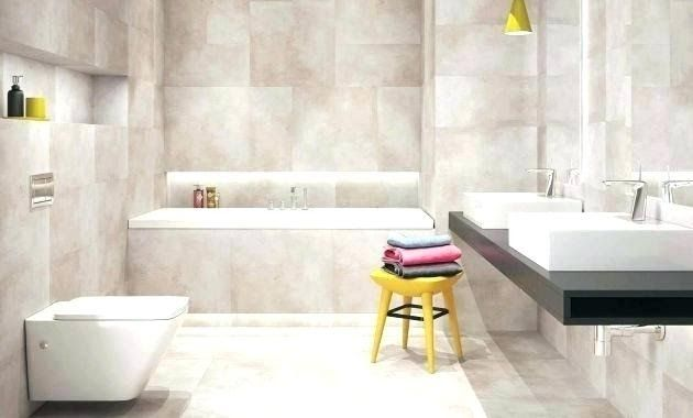 Badezimmer Beige Braun In 2020 Beige Tile Modern Bathroom Decor