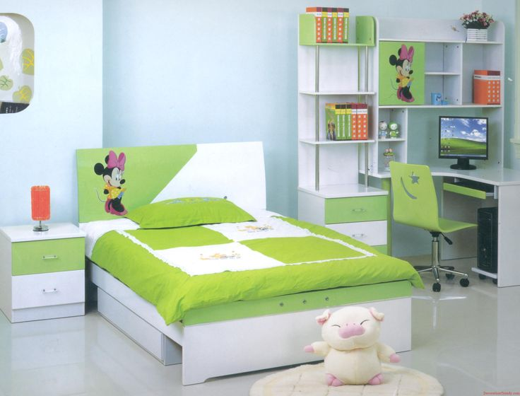 Modern youth bedroom furniture decoration design 2013 ideas