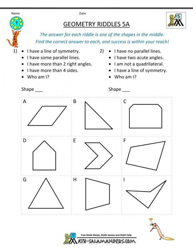 43++ Basic geometry worksheets Latest News