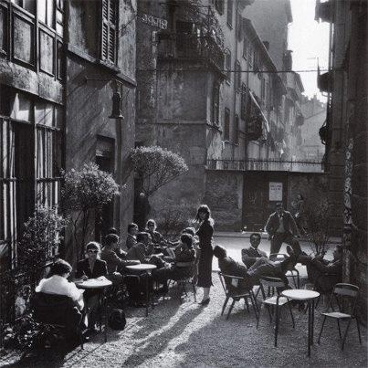 Milano, Bar Jamaica, 1954 by Ugo Mulas