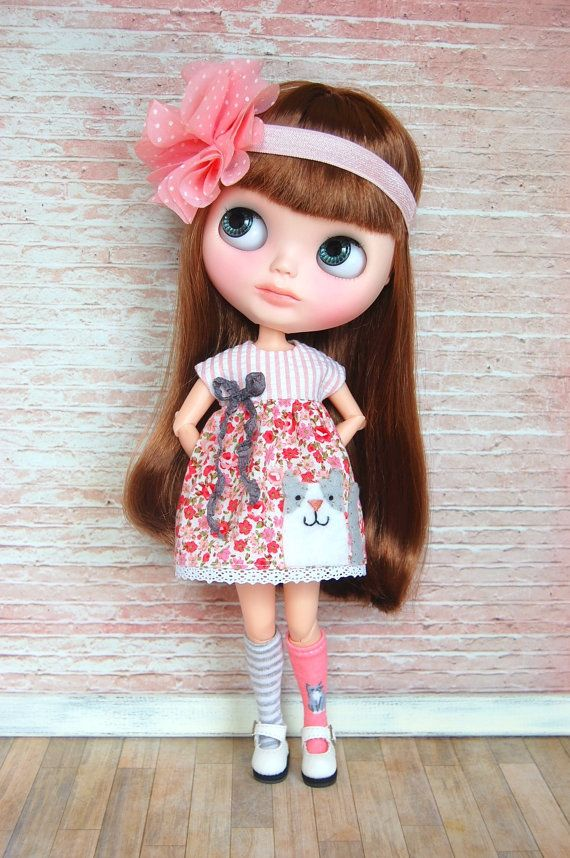 Miss Kitty Dress by BlytheByBetty on Etsy