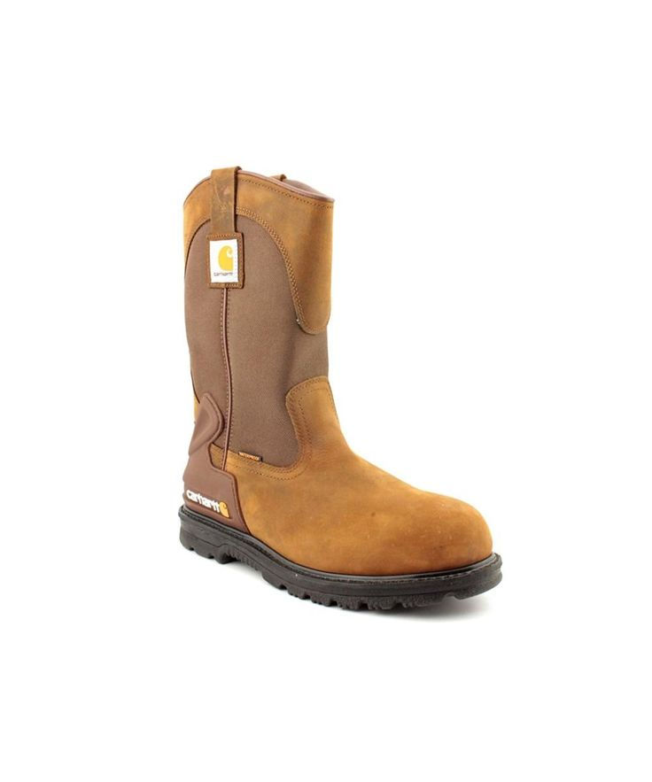 CARHARTT Carhartt 11&Quot; Wos Wellington Men  Steel Toe Leather Brown Work Boot'. #carhartt #shoes #boots