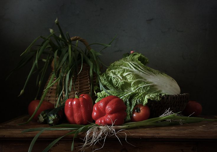 35PHOTO - Карачкова Татьяна - Лохматый лучок и другие овощи