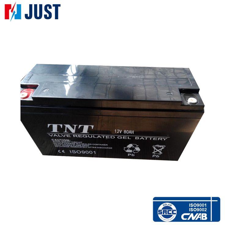 Grossista 80Ah bateria 12v gel de ácido de chumbo
