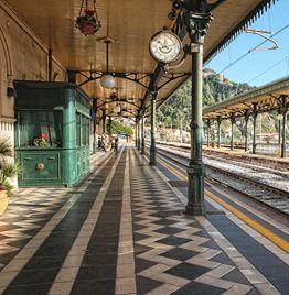Railway station Taormina-Giardini Naxos #taormina #sicily #visitsicily