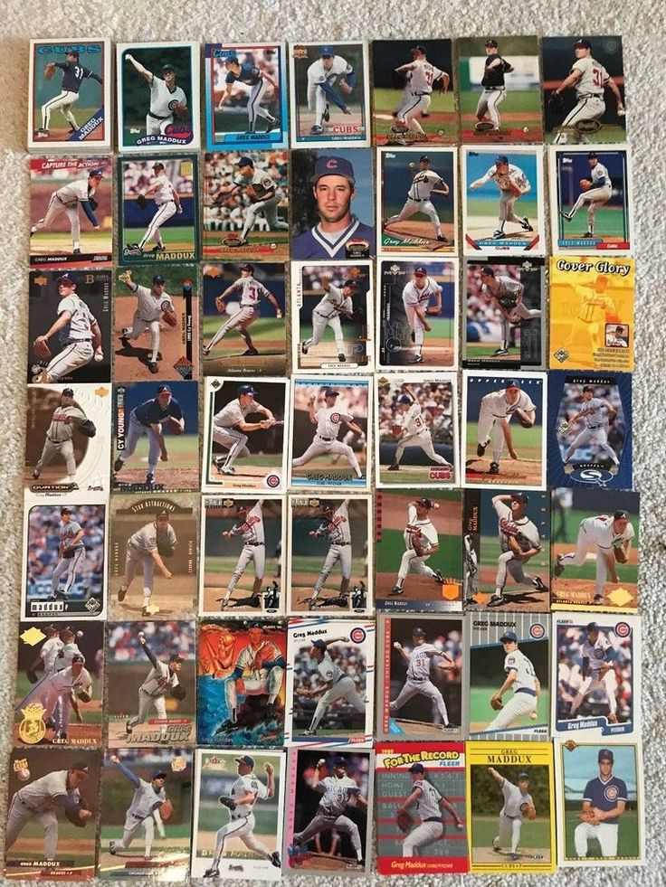 Greg Maddux 242 Card Lot - Only $19.99!! Free Shipping!!