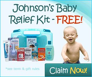 Johnson's Baby Relief Kit – FREE