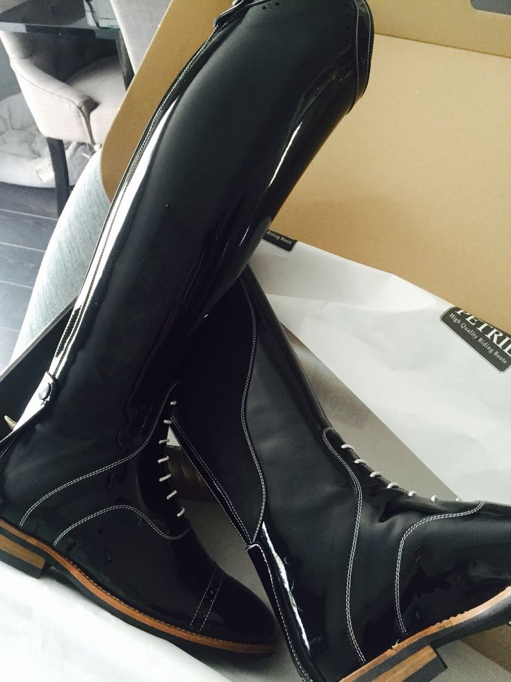 Petrie patent boots <3