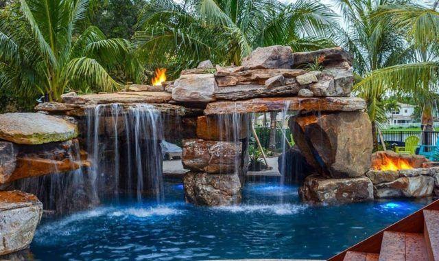 Insane Pools Tv Episode A Lazy River Runs Through It Luxury Pools Backyard Swimming Pools Backyard Custom Pools