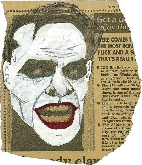 How Jack Nicholson became The Joker - When producer Michael Uslan was first thinking about bringing a darker version of Batman to the big screen, back in 1980, he saw a photo of Jack Nicholson from The Shining in the paper — and started drawing on it...