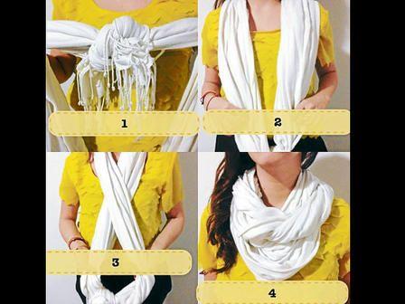 nudos para bufandas - Buscar con Google